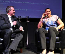 Albany Blues Awards Hamish MacKay and Valerie Adams