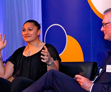 National Blues Awards - Valerie Adams at Manawatu Massey Blues in 2012